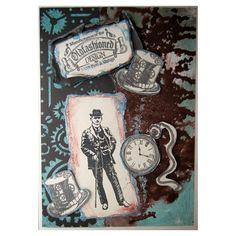 Viva Decor My Paper World Silicone Stamps - Gentlemen #99 < Craft Shop   Cuddly Buddly Crafts