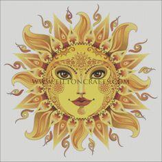 Pin by Hester Dowdy on Whimsical Sun, Moon & Stars Sun Moon Stars, Sun And Stars, Art Soleil, Art Hippie, Hippie Boho, Tattoo Sonne, Sun Drawing, Sun Painting, Good Day Sunshine