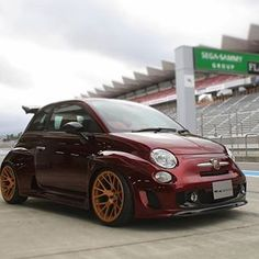 Image may contain: car sky and outdoor Weird Cars, Cool Cars, My Dream Car, Dream Cars, Smart Car Body Kits, Fiat Cars, Fiat Ducato, Automobile Companies, Fiat Abarth