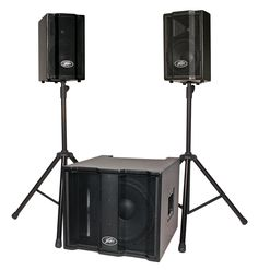 Peavey TriFlex® II 1000W Active Two-Channel Three-piece Speaker System. This is a must have item!!!