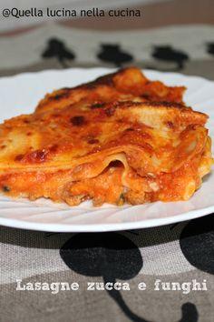 #lasagne #zucca #funghi #senzauova #lasagnesenzauova #eggless