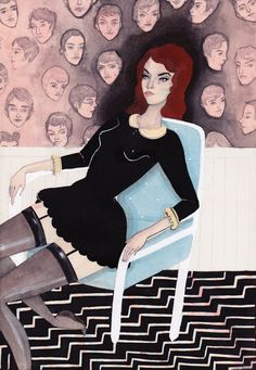 Caitlin Shearer's Imaginary Boys Money Power Glory, Redhead Art, Teen Witch, Muse Art, Little Dresses, Photo Illustration, Fashion News, Urban Outfitters, Snow White