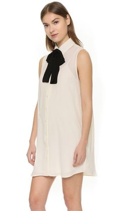 cupcakes and cashmere Farrah Dress with Removable Tie