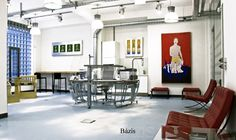 Loffice Coworking place, Budapest office design