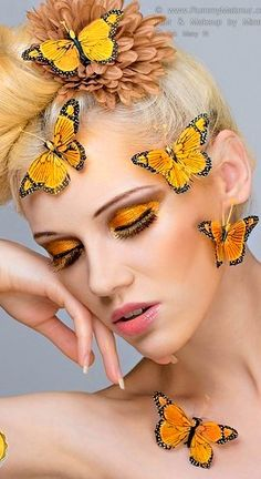 Lovely Yellow Butterflies | cynthia reccord
