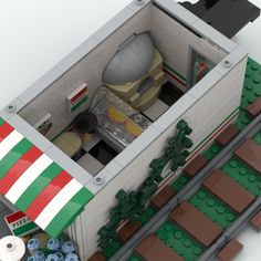 Lego Pizza, Train Route, Three Floor, Lego Ideas, Two By Two, Flooring, Boutique, Building, Projects