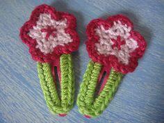 new crochet hairslide