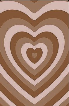 brown heart back ground <3