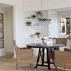 Rustic Beach Dining - California Style Decorating Tips - Coastal Living