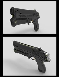 Inflitrator Pistol by James Hawkins on ArtStation. Cosplay Weapons, Anime Weapons, Sci Fi Weapons, Weapon Concept Art, Fantasy Weapons, Weapons Guns, Guns And Ammo, Cyberpunk, Future Weapons