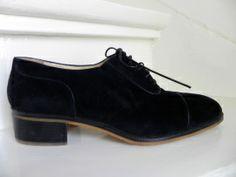 Ottorino Bossi exclusieve veterschoenen (1865) #vintage men's shoes