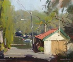 Colley Whisson Landscape Art, Landscape Paintings, Landscapes, Sailboat Painting, Impressionist Art, Art For Art Sake, Australian Artists, Beautiful Paintings, Contemporary Paintings