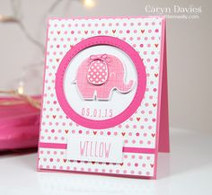 Sweet card by Caryn for the Simon Says Stamp Wednesday challenge (Anything Goes)