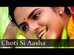 Choti Si Aasha - Madhoo - Roja - Bollywood Songs - Minmini - A. R. Rahman Hits - YouTube