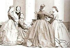 Suas damas de companhia