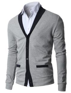 fd085778094 H2H Mens Casual Slim Fit Shawl Collar Basic Designed Cardigans at Amazon  Men s Clothing store  Cardigan Sweaters