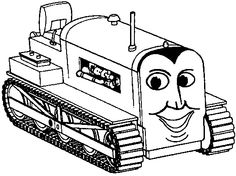 Thomas-The-Train-Bulldozer-Coloring-Pages.gif