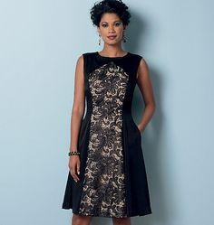 B6280 Misses'/Misses' Petite Dress