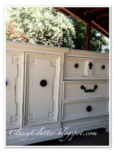Oriental Silk Dresser Makeover