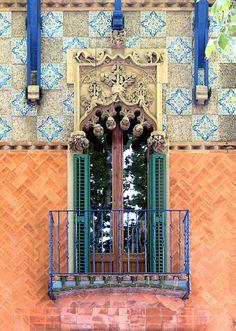 https://flic.kr/p/wRaP5S | St. Cugat - Av. de Gràcia 30 d | Can Massana (Manuel Armet) 1898-1899 Architect: Ferran Romeu i Ribot