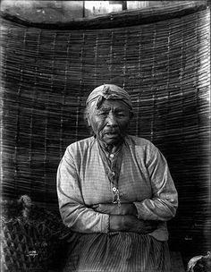 Puget Sound Salish woman : General Taylor's wife, ca. 1900, UW Library American Indians of the Pacific Northwest Collection