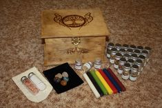 Witches Restock Herb Box , Tree of Life #1 ,Witches Spell Box,Altar Kit,Wiccan Herbs