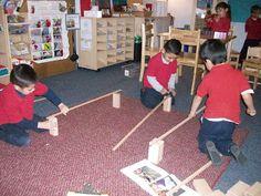 Scuola Vita Nuova Pre-k: Ramps and Pathways