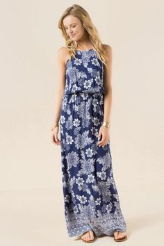 Isabel Floral Maxi Dress #francescas