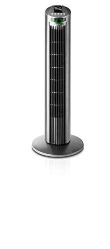 Taurus Babel Rc Ventilador De Torre Con Control Remoto 3 Velocidades 45w Color Gris Taurus En 2020 Control Remoto Ventilador Babel