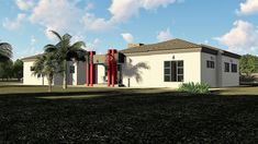 3 Bedroom House Plan – My Building Plans South Africa Architect Fees, Single Storey House Plans, Construction Drawings, Marketing Budget, Bedroom House Plans, Building Plans, Windows And Doors, Mj, South Africa
