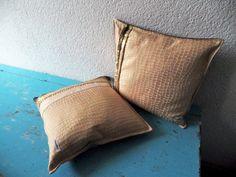 Kissenbezüge - 2 Kissenbezüge 40 x 40   - ein Designerstück von Waschbrett bei DaWanda
