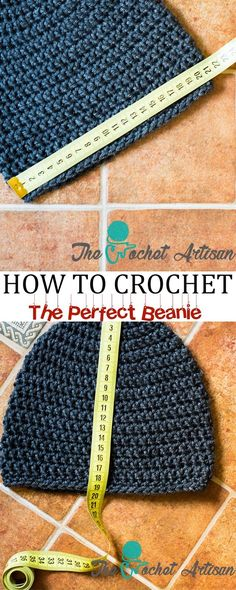 The Crochet Artisan: How to Size Crochet Beanies