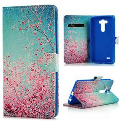 Fashion Painted Cute Stand Flip Wallet Shell Pu Leather Case Cover For LG Stylus Smartphone Leather Case, Pu Leather, Lg Cases, Lg G3, Fashion Painting, Stylus, Smartphone, Shell, Wallet