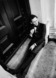 Tom Hiddleston. His legs are so long.