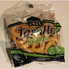 obwarzanki Tarallo Break 8x30g NUTRI FREE , BEZ LAKTOZY, BEZ MLEKA, BEZ JAJEK, BEZ SOI, SŁODYCZE / PRZEKĄSKI, BEZGLUTENOWE - BlizejNatury.net - zdrowa żywność z dostawą