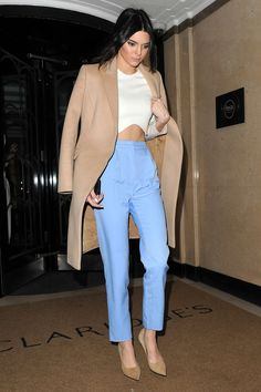 Kendall Jenner's street style game proves how she can always make every outfit look chic. See here for more of her looks. 30 Outfits, Casual Summer Outfits, Fashion Outfits, Outfit Summer, Ootd Fashion, Stylish Outfits, Looks Street Style, Looks Style, My Style