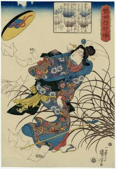 Utagawa Kuniyoshi: Tora Gozen, from the series Stories of Wise Women and Faithful Wives (Kenjo reppu den) - Museum of Fine Arts