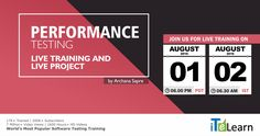 Performance Testing Live Training + Live Project Performance Testing is a part of QA Testing and it is an important step in Software Development. To meet the great demand for professionals in Performance Testing, ITeLearn, World's Leading Software Trainers comes out with an unique Performance Testing Live Training with a chance to have experience on Live Project.  #ITeLearn #Performance #Testing #LiveTraining #LiveProject