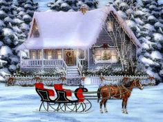 christmas horse | Christmas Horse Wallpapers