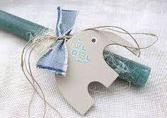 Αποτέλεσμα εικόνας για πασχαλινες λαμπαδες χειροποιητες Xmas, Christmas Ornaments, Candle Making, Candles, Easter Candle, Holiday Decor, Creative, Crafts, Handmade