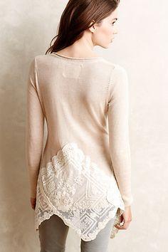 Copy this idea - Alpinum Pullover - anthropologie.com