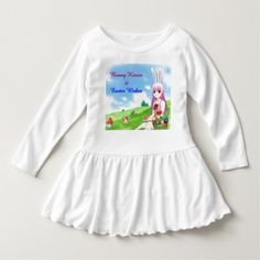 Bunny Kisses & Easter Wishes (Customizable) Dress