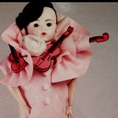 Victor & Rolf 'Magdalena' doll SS08 Postcard