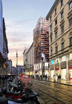 Via Torino è uno dei principali assi cardine su cui si è sviluppata la maglia radiale di Milano. Nasce da Piazza del Duomo e crea una lunga prospettiva di edifici storici di pregio che accompagno lo sguardo dentro la città. Tra le significative...
