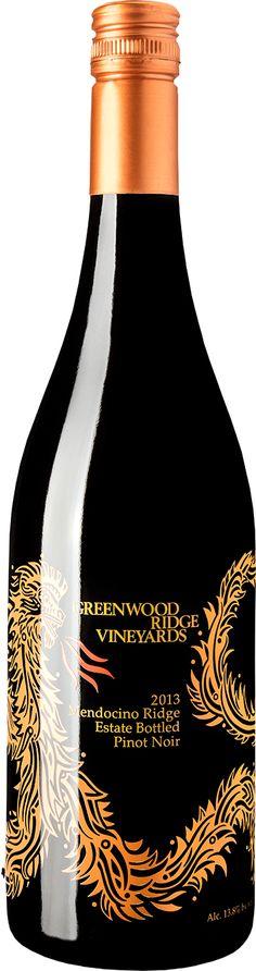 Greenwood Ridge 2013 Pinot Noir Mendocino Ridge - Estate Bottled | Wine Store | Gold Medal Wine Club