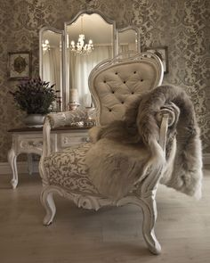 FurnituRenascence Wingback Chair, Armchair, Boho Chic, Accent Chairs, Shabby, Retro, Inspiration, Furniture, Vintage