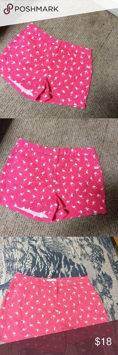 pink shorts ELLE pink flamingo short. Bought it but never worn it size 8 Elle Shorts Skorts