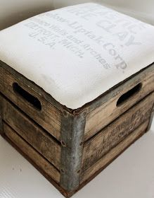 Namely Original: Milk Crate Ottoman