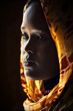 Portrait by ömer göçmenler Black Is Beautiful, Beautiful World, Beautiful People, Photo Portrait, Portrait Photography, Skin Girl, Black Women Art, African Culture, Many Faces