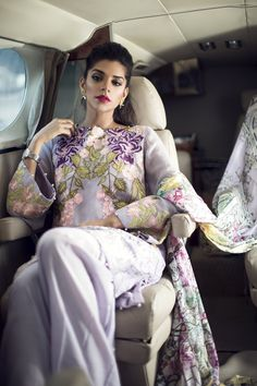 Pakistani fashion : allthingspakcelebs: Sanam Saeed for Saira...